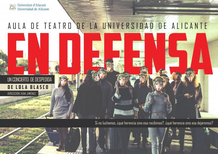 CARTELL EN DEFENSA